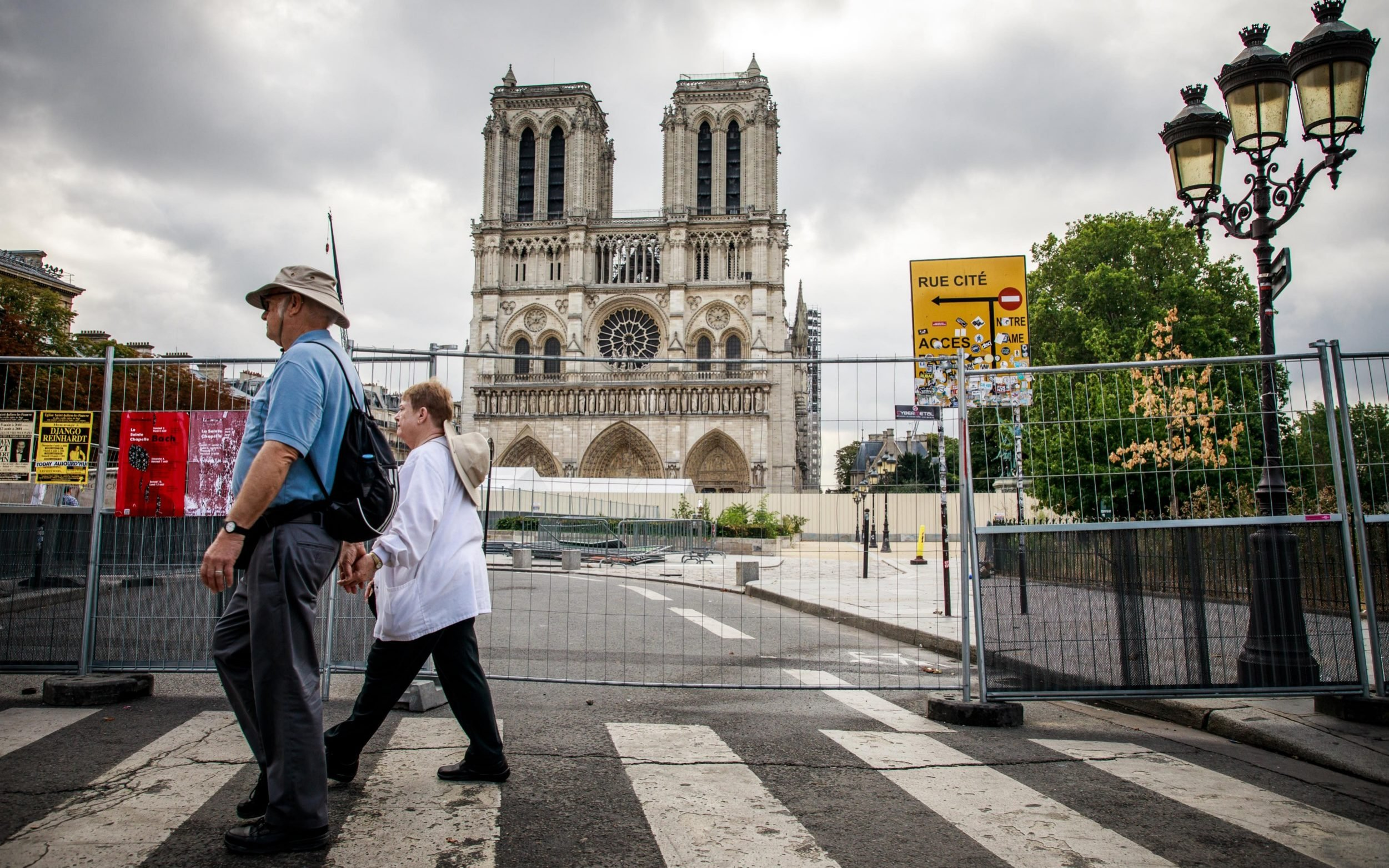 Notre Dame Cathedral Square temporarily closed due to high lead levels