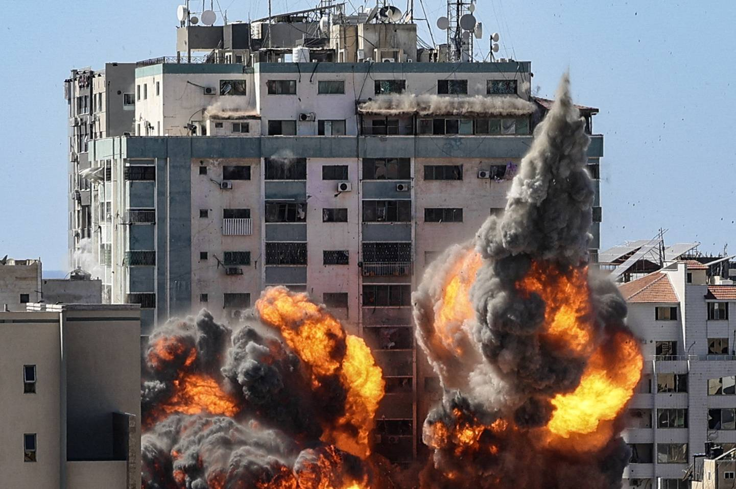 United States has not seen the evidence that Israel says shows the presence of Hamas in the building Jala Tower