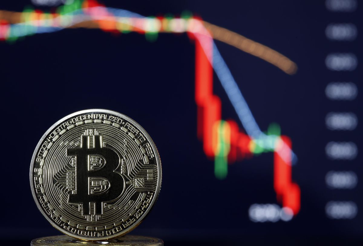 Bitcoin draws a floor that must resist avoiding a new crash in cryptocurrencies