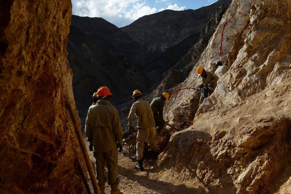 Afghanistan rare minerals mining