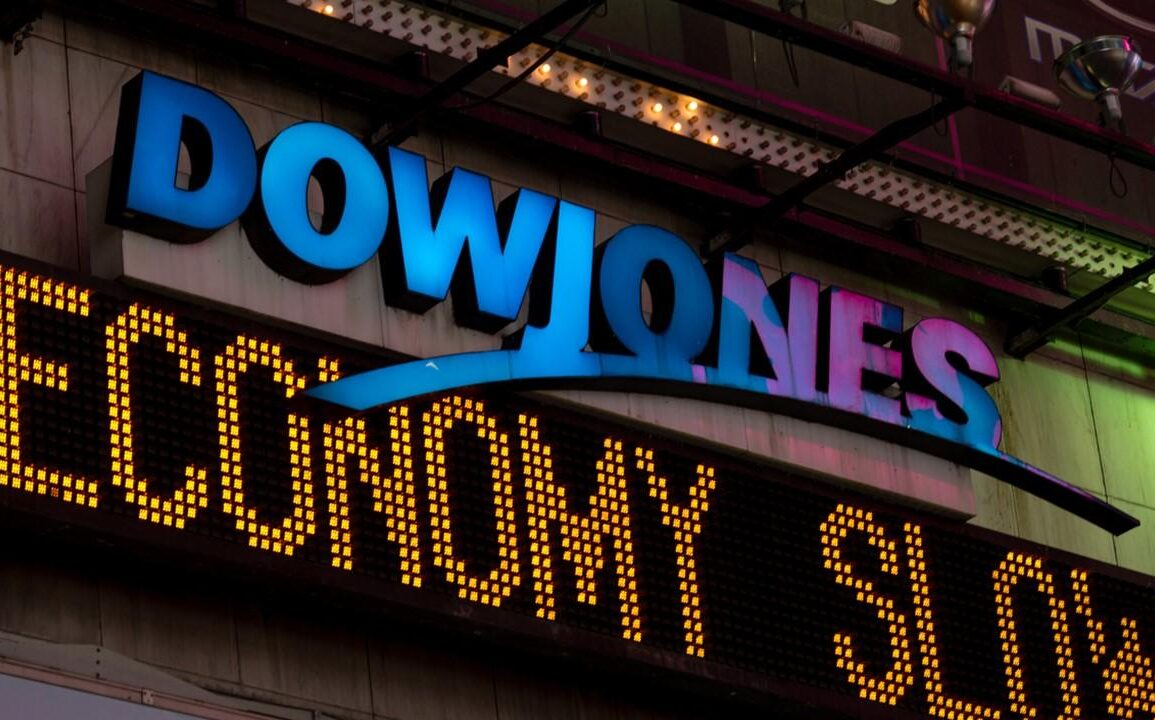 Dow Jones at all-time highs is called Goldman Sachs