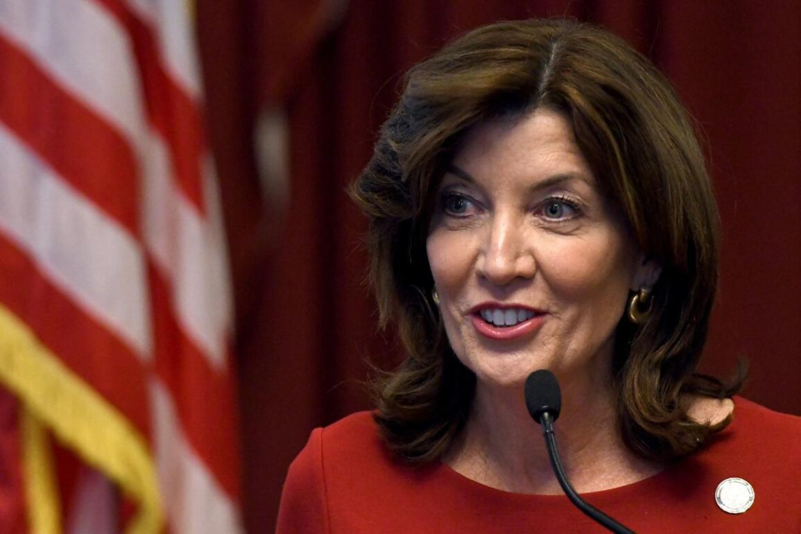 Kathy Hochul governor of New York