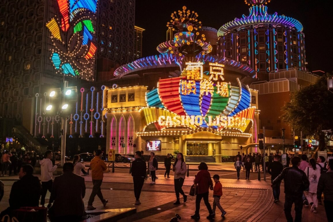 China affects Casinos Macao