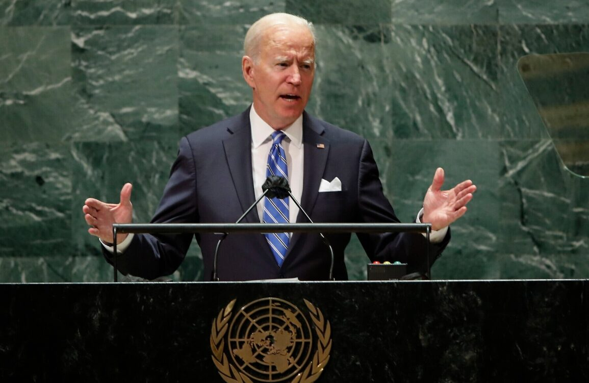 Joe Biden talks about diplomacy in the United Nations